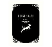House Snape Art Print