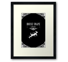 House Snape Framed Print