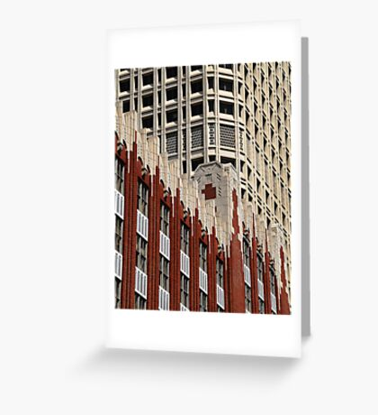 Arcitecture, Seattle Greeting Card