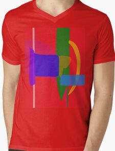 A Nation Mens V-Neck T-Shirt
