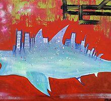 Megalodon Metropolis by Laura Barbosa