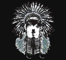 Indian chief wolf One Piece - Short Sleeve