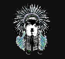 Indian chief wolf Womens Fitted T-Shirt
