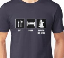 Eat Sleep Watch Doctor Who Unisex T-Shirt