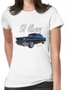 57 Chevy T-Shirt Womens Fitted T-Shirt