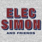 Elec Simon & Friends - Retro Text by Benjamin Lehman