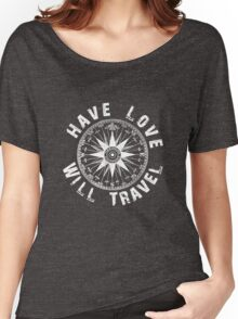 Have Love_white_print Women's Relaxed Fit T-Shirt