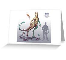 Mewtwo Greeting Card