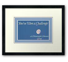 Banner - AMM - Challenge Winner Framed Print