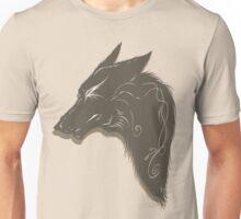 wolf bust 2 Unisex T-Shirt