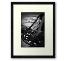 Gearing Into Yesteryear Framed Print