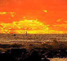 Sky on Fire by louisealex