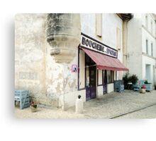 Boucherie Canvas Print