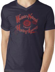 Winchester's National Hunting Agency Mens V-Neck T-Shirt