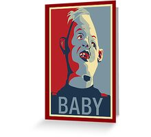 "Sloth from The Goonies - ""Baby"" Greeting Card"