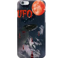UFO IN THE SKY iPhone Case/Skin