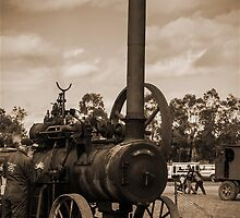 Tractors and Steam Engines by Deborah McGrath