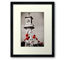 Roath Park Lighthouse Cardiff Wales 2 Framed Print