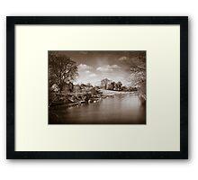 Kennet and Avon Canal Kintbury England Framed Print