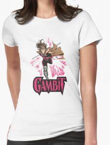 Gambit Superheroes T-Shirt Womens Fitted T-Shirt