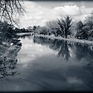 Kennet and Avon Canal Berkshire England by mlphoto