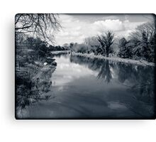 Kennet and Avon Canal Berkshire England Canvas Print
