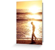 The Boy Who Walked in the Light Greeting Card