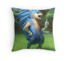 Sonic the Realhog Throw Pillow