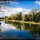 Kennet and Avon Canal Kintbury England by mlphoto