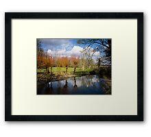 River Kennet Kintbury England Framed Print