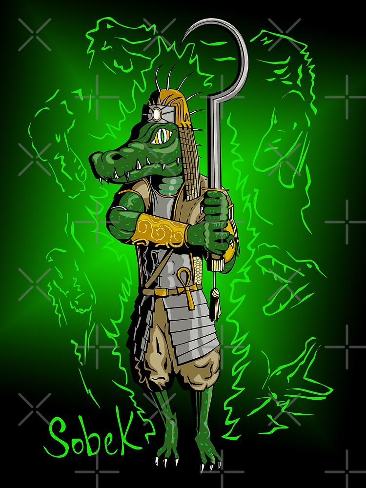 Sobek, Crocodile God by C.J. Jackson