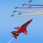 Red Arrows i Phone Case by Colin J Williams Photography