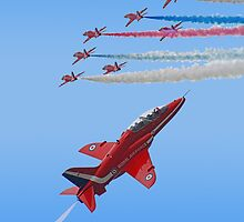 Red Arrows i Phone Case by Colin  Williams Photography