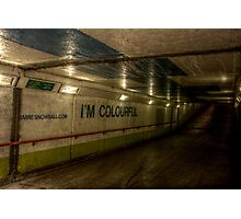 Subway - Colourful Photographic Print