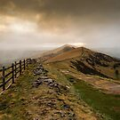 Path from Mam Tor by John Dunbar
