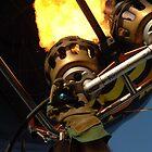 Hot Air Balloon Burner by mlphoto
