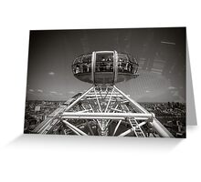 London Eye England Greeting Card