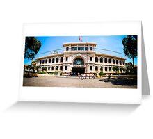 Saigon Post Office Greeting Card