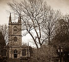 St Lawrence Church Hungerford England by mlphoto