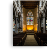 St Lawrence Church Hungerford England Canvas Print