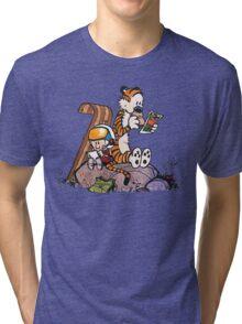 Calvin & Hobbes Fans Tri-blend T-Shirt