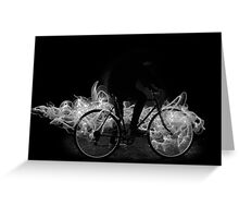 FyreBike (B&W) Greeting Card
