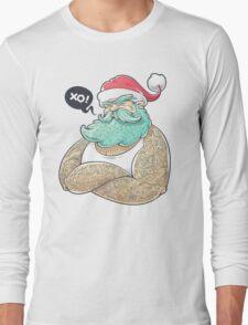 Hipsta Claus Long Sleeve T-Shirt