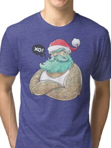 Hipsta Claus Tri-blend T-Shirt
