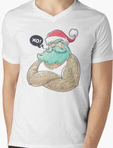 Hipsta Claus Mens V-Neck T-Shirt
