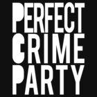 Bakuman: Perfect Crime Party black t-shirt by vergil