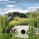 Bridge in Huntington LB Garden by loiteke