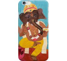 Dancing Ganesha - collage  iPhone Case/Skin