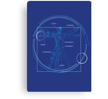 Vitruvian Playboy Canvas Print