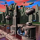 City Limits 2 by Dreamscenery
